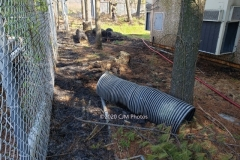 Members were called out to a PSEG Sub Station on report of a brush fire