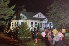Livingston Firefighters were called to East Hanover on the evening of July 8 to assist at a residential house fire